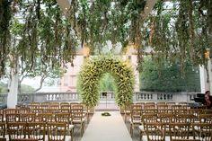 Resembles my dream wedding setting... -San Francisco