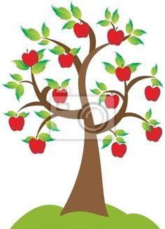 Wall Mural Apple Tree