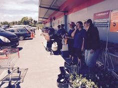 Sausage Sizzle Fundraiser 06 - 07 Dec 2014 for our trip to Te Matatini Kapahaka Nationals