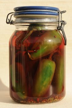 Pickled Jalapeños. I slice instead of whole. SO good.