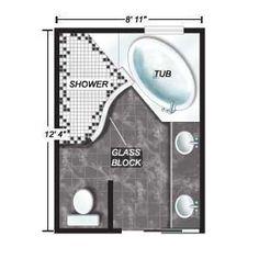 8 x 12 foot master bathroom floor plans walk in shower