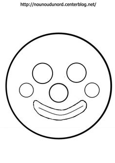 Masque têtede clown chapeau et noeud  Imprimer les fichiers:.acrobat.com/ **************** *Mardi gras, carnaval* Découvrez nos Activités cliquez:.ici. tous mes masques :.ici.Coloriages ... Mardi Gras, Projects For Kids, Crafts For Kids, Theme Carnaval, Animal Crafts, Symbols, Letters, Stitch, Drawings
