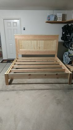 Ana White | King Bed Frame   DIY Projects
