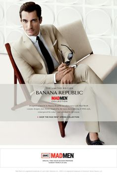 Absolutely LOVE the Mad Men Collection from Banana Republic.