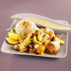 Chicken Wings, Cauliflower, Vegetables, Desserts, Bikini, France, Food, Creamy Chicken, Skinny Kitchen