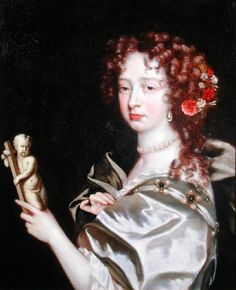 ca. 1670 Portrait of a Lady of the Court of Catherine of Braganza by Jacob Huysmans