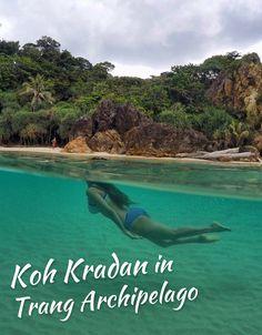 Koh Kradan in Trang Archipelago
