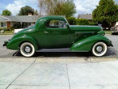 1936 Buick three window coup