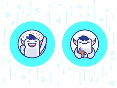 Monster Stickers by Sooodesign #Design Popular #Dribbble #shots