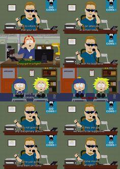"South Park ""Tweek x Craig"" PC Principal"