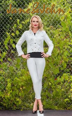 c6589558c262a3 J-200 (Off white pearl jacket only) Pant J-202 arriving soon