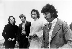 """On this day in 1967, On The Ed Sullivan Show, The Doors performed """"Light My Fire"""" and """"People Are Strange."""" Jim Morrison sang the line """"Girl, we couldn't get much higher"""" even though Sullivan asked him not to. They were banned from the show thereafter."""