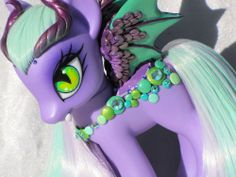 My Little Pony Custom *** MADERA *** G4 Fashion Style **FS** Gothic Pegasus