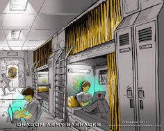 Ender's Game fan art by Darian Robbins