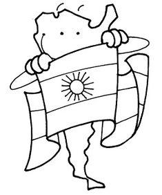 ...Aula Seño Sory...: 1812-2012 Bicentenario de la creación de la bandera argentina Teaching Activities, Teaching Kids, Activities For Kids, Scout Mom, Girl Scouts, Coloring Sheets, Coloring Pages, Spanish Speaking Countries, Hispanic Heritage
