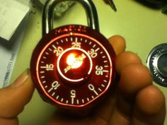 How many locked combo locks do you have in the junk drawer?  And do you remember the combinations?  Here are instructions on how to make them usable again.