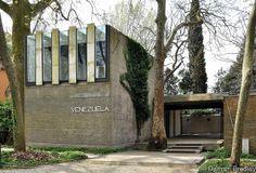 Biennale Pavilion for Venezuela, Venice, Italy. Carlo Scarpa 1954-1956.