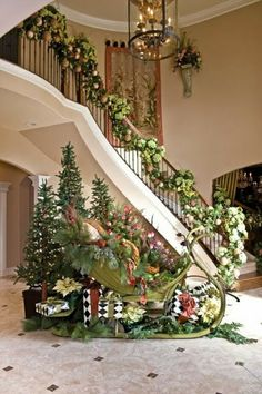 Sleigh Christmas Tree