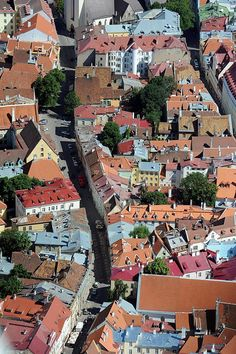 The Lai Street (wide), Old Town (Reval), Tallinn,Estonia