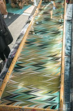 Large Tray For Marbling And Dyeing 00 Older Non Jewelry
