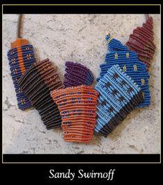 Sandy Swirnoff macrame