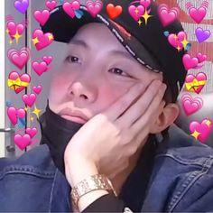 These soft bts edits Jimin, Hoseok Bts, Seokjin, Namjoon, Bts Meme Faces, Bts Memes Hilarious, Cute Memes, Foto Bts, K Pop