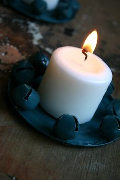 Jingle Bell Candle Trays