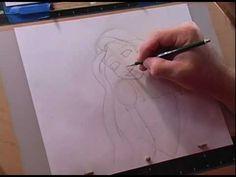 Como desenhar Rapunzel