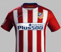 Asi luce la nueva camiseta del Atleti