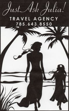 Are you looking for the perfect vacation; or perhaps you're the busy business traveler.  Let Just Ask Julia do the work for you ~ WITHOUT the fee!!  justaskjuliatravel@outlook.com 785.643.8550 http://www.facebook.com/Julia.justaskjulia