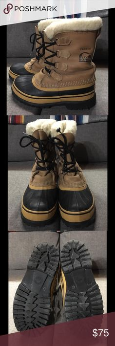 Women's Caribou Sorels Like Brand New Sorel Shoes Winter & Rain Boots