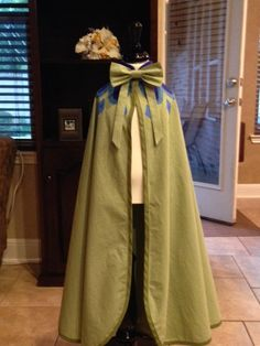 Frozen Princess Anna Inspired Coronation Cape PDF by mlwozniak