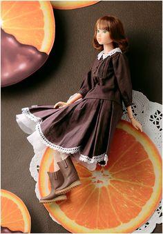 momoko DOLL ORANGE CHOCOLAT
