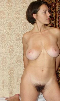 Mature women with big natural tits and hairy bush