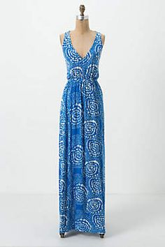 Maxi dress from Anthropologie.  SWOON!
