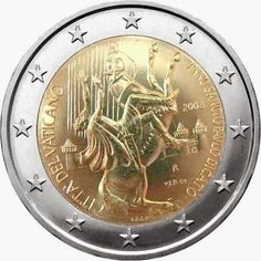 commemorative coins - Vatican City Year of Saint Paul the Apostle. Commemorative 2 euro coins from Vatican City Piece Euro, Timbre Collection, Paul The Apostle, Money Notes, Euro Coins, Venice Travel, Commemorative Coins, World Coins, Vatican City