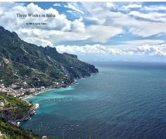 """Three Weeks in Italia is a 174 page full color travel photojournal that depicts our adventuress in Rome and the Amalfi Coast of the Campania Region in Italy. The dimensions of the book are 11""""x 13"""", making it the perfect coffee table book.   Come along with me, my wife Linda, and our best friends Joey & Anita as we witness the monumental historic significance of Ancient Rome, the palatial beauty and works of art in the Vatican and the tragic history that is Pompeii.  Then on to the natural…"""