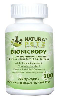 Bionic Body - Immunity, Digestion & Allergy Defense + Bone, Eye, Teeth