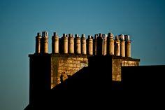 Edinburgh Chimney Pots.