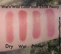 Wet n Wild Color Icon Single in Penny. I think this is the pinkish color in comfort zone