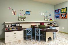 Kids playroom by #olamarinteriors