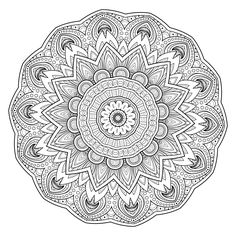 168 best Printable Mandalas to Color - Free images on Pinterest ...
