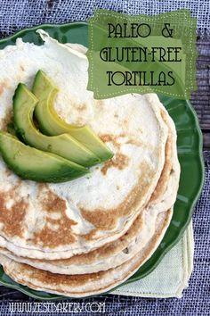 Coconut flour recipes Gluten Free Tortillas Grain Free Tortillas◄►Gluten Free…