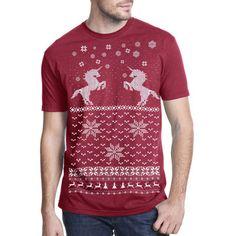 Unicorn Tee Unisex Red - for hubby