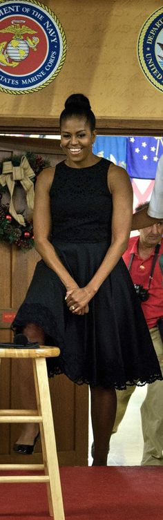 Michelle Obama Found a Dress That Would Work in Any Climate
