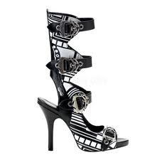 Total Cyber goth boot heels - well, that was unexpected