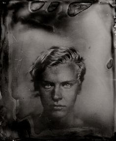 Marcello 2011 wet plate collodion positive ambrotype by Jan Eric Euler