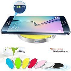 Kollea Qi Wireless Charger Pad (W 5V 2A AC Adapter) for Samsung Galaxy S6/S6 Edge, Nexus 4/Nexus 5/New Nexus 7 Tablet, Nokia Lumia 920, Lumia 925, Lumia 1020 and Other Qi Enabled Smartphones Kollea http://www.amazon.com/dp/B00XTZTL9E/ref=cm_sw_r_pi_dp_17KFvb0Y31GHX
