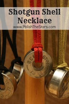 Polish The Stars: Shotgun Shell Necklace                                                                                                                                                                                 More