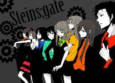 Risultati immagini per steins gate fan art Film Anime, Manga Anime, Anime Art, Steins Gate 0, Gate Images, Kurisu Makise, Anime Group, Rainbow Colors, Hd Wallpaper